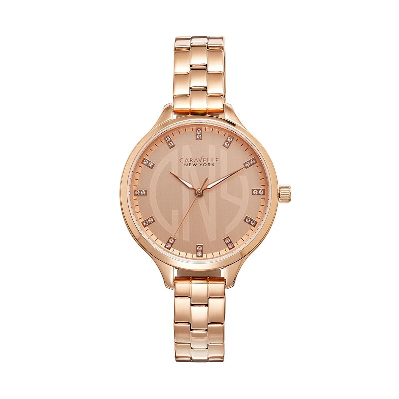 Caravelle New York by BulovaWomen's Crystal Stainless Steel Watch - 44L207