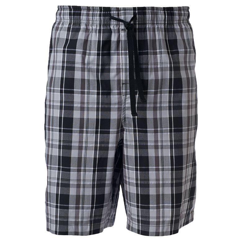Big & Tall Croft & Barrow® Plaid Stretch Jams Shorts