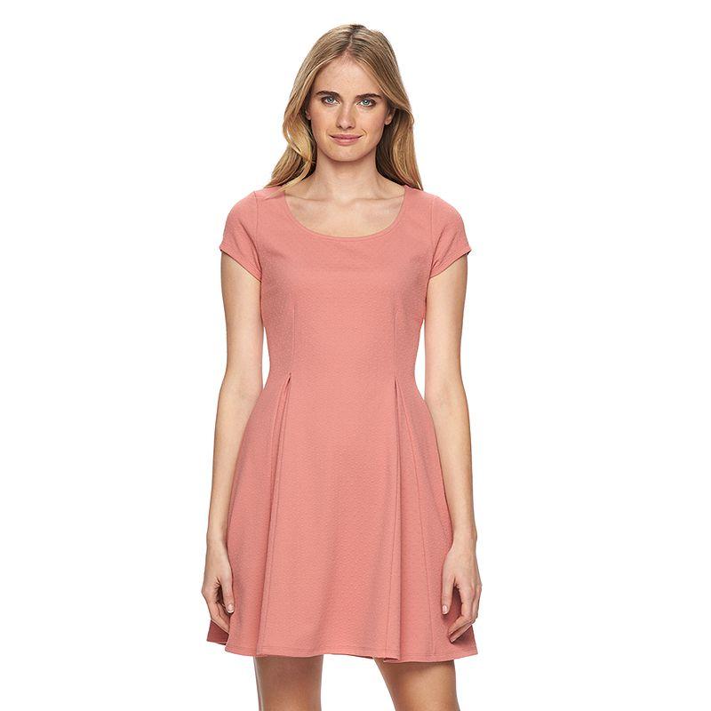 Women's LC Lauren Conrad Dot Fit & Flare Dress