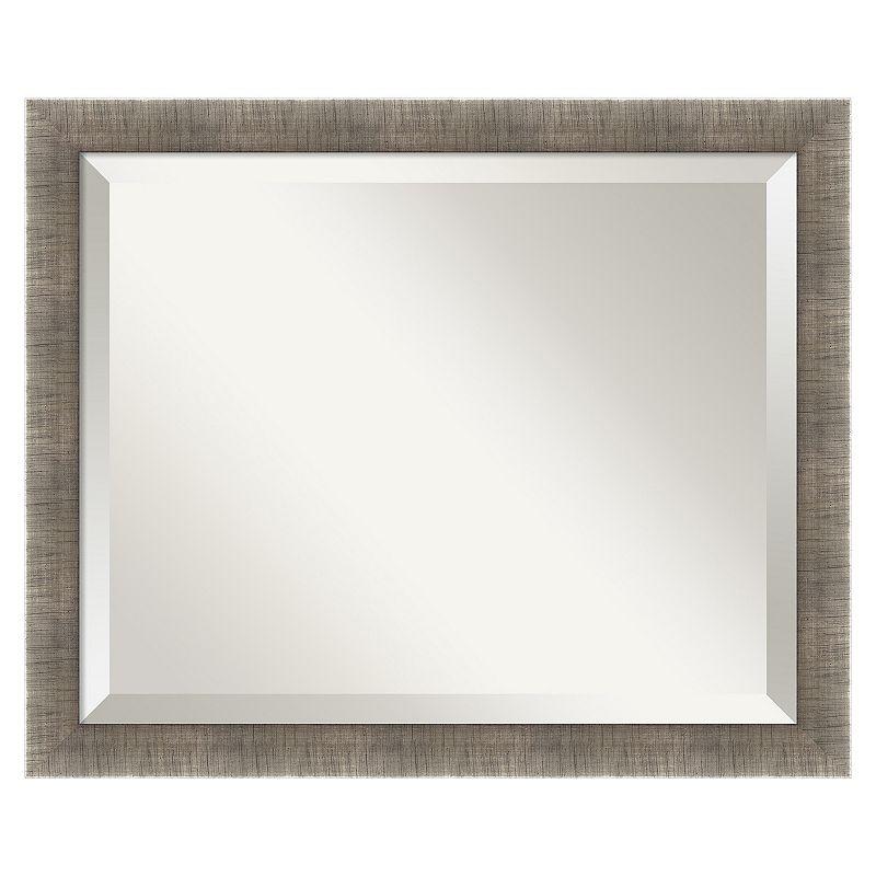 Leaf Beveled Wall Mirror