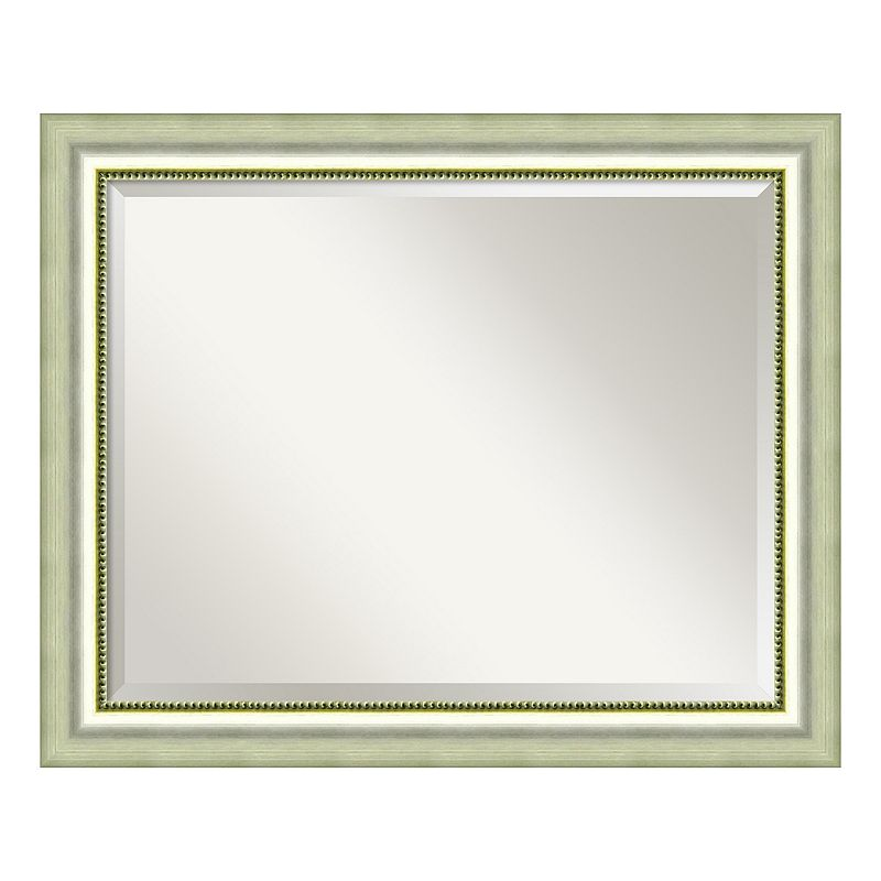 Vegas Burnished Beveled Wall Mirror
