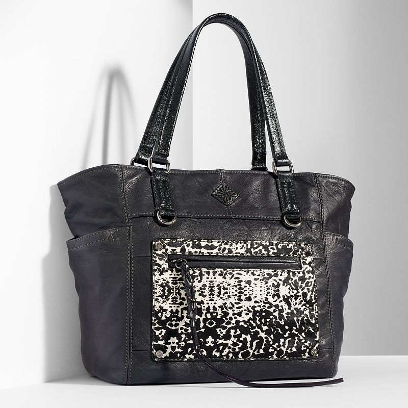 Simply Vera Vera Wang Dubai Leather Tote