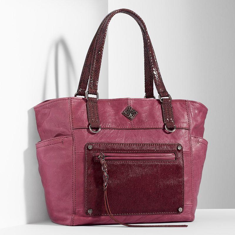 Simply Vera Vera Wang Dubai Leather Tote