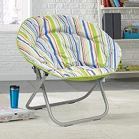 Urban Shop Surfer Stripe Saucer Chair