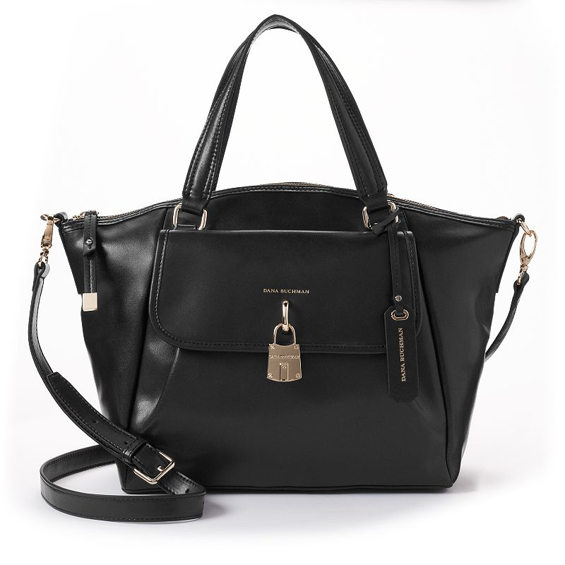 Dana Buchman Claridge Leather Convertible Tote