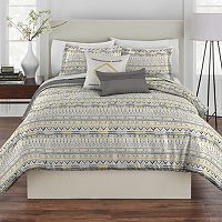 Rhapsody Geo Tribal Stripe Comforter Set