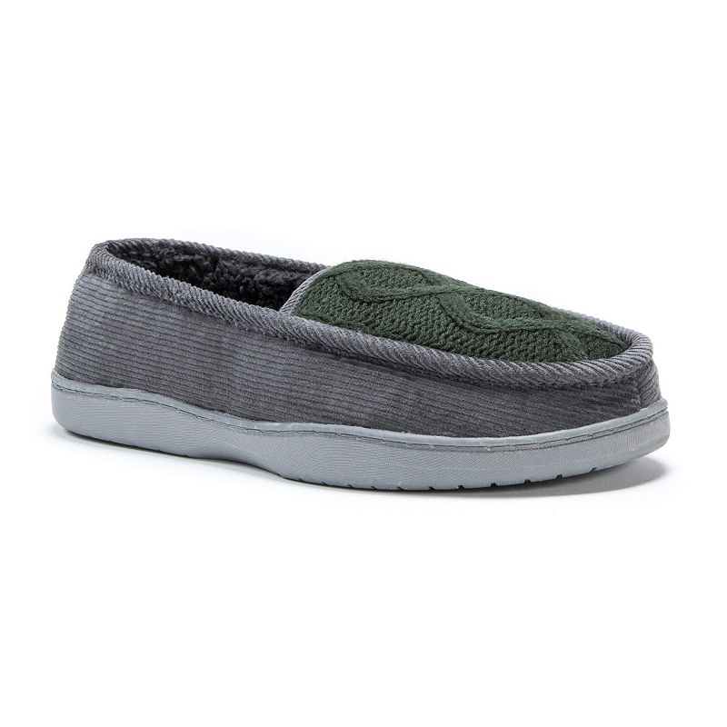 MUK LUKS Men's Henry Loafer Slippers