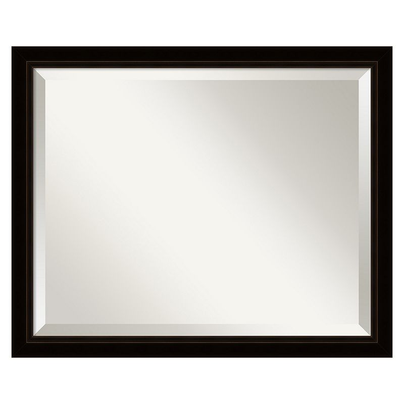 Sateen Beveled Wall Mirror