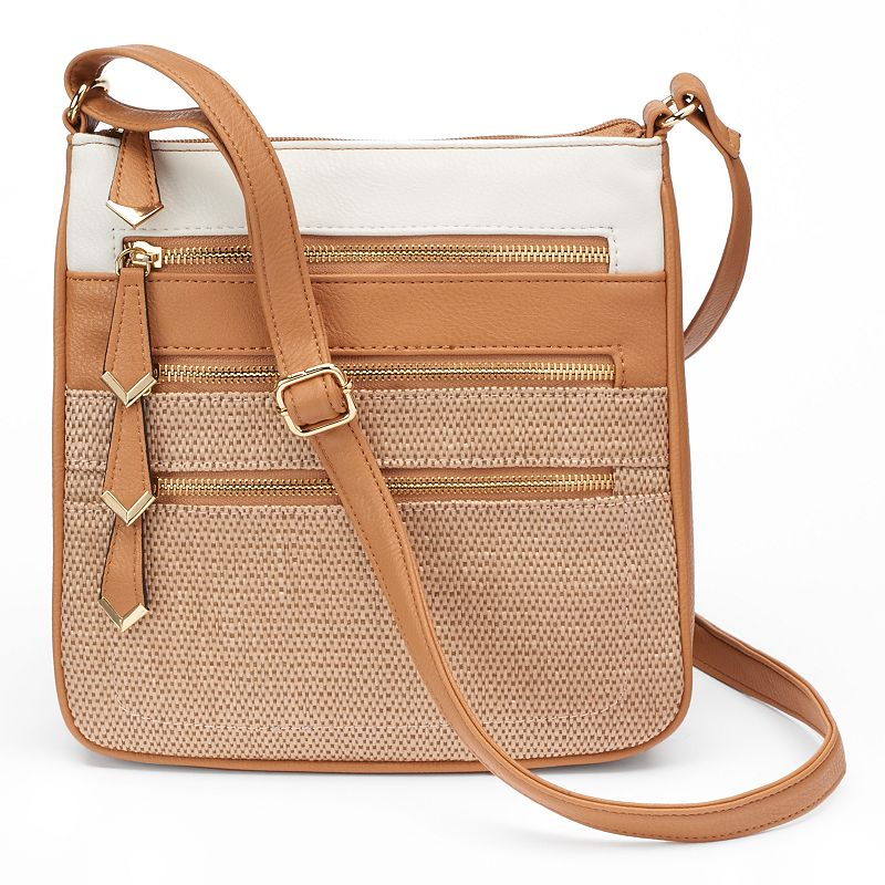 Apt. 9® Robin Straw Crossbody Bag