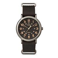 Timex Men's Weekender Leather Watch - TW2P85800JT