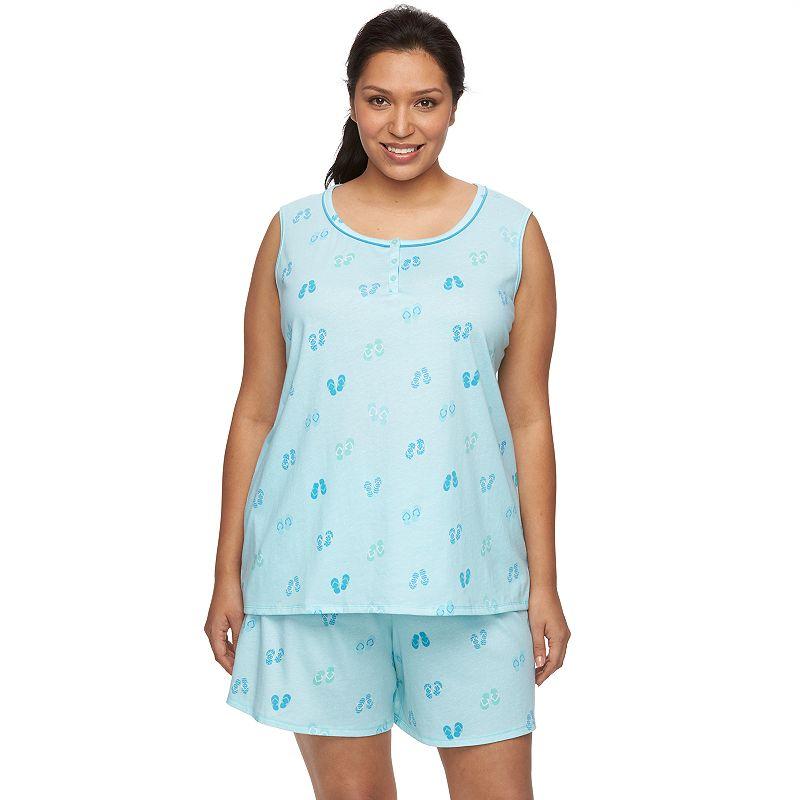 Plus Size Croft & Barrow® Pajamas: Tank & Shorts Pajama Set
