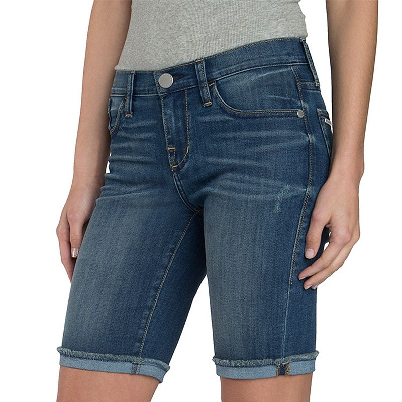Women's Rock & Republic® Faded Bermuda Jean Shorts