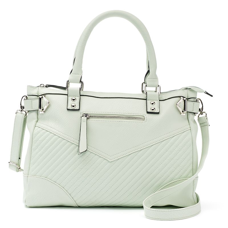 Candie's® Willow Quilted Satchel