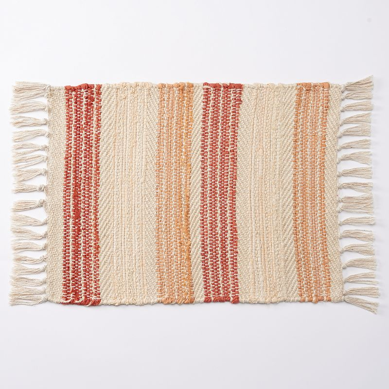 Food Network™ Coral Stripe Placemat