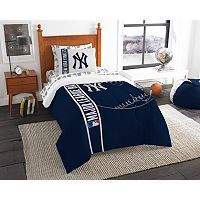 New York Yankees Soft & Cozy Twin Comforter Set by Northwest
