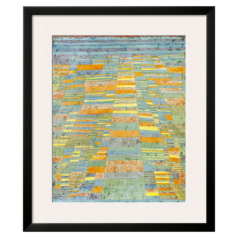 Art.com ''Primary Route and Bypasses, c.1929'' Framed Wall Art