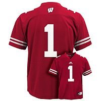Boys 8-20 adidas Wisconsin Badgers NFL Replica Jersey