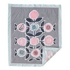 Lolli Living Sparrow Reversible Baby Quilt  by