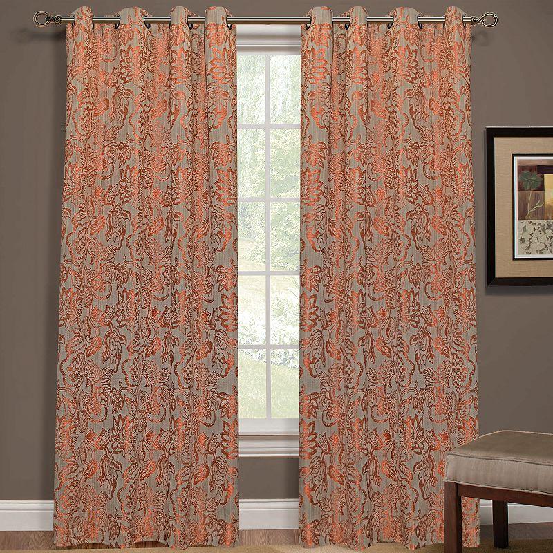 Yacon Floral Jacquard Curtain