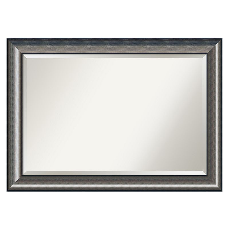 Quicksilver Beveled Wall Mirror