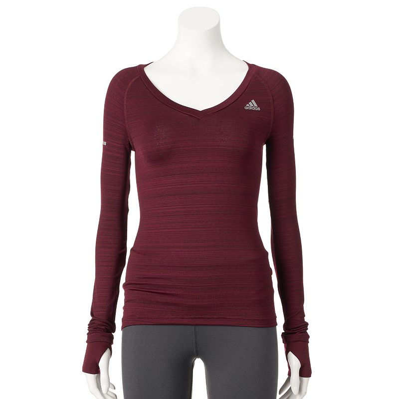 Women's adidas Sequential Heathered Running Tee