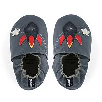 Tommy Tickle Baby Boy Rocket Crib Shoes
