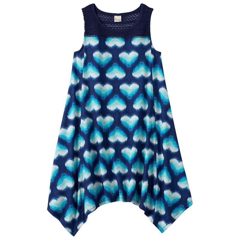 Girls 7-16 Mudd® Crochet Trapeze Dress