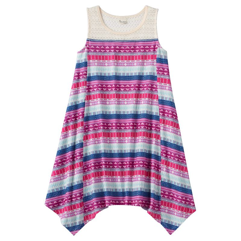 Girls 7-16 Mudd® Crochet Trapeze Dress