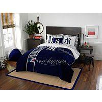 New York Yankees Soft & Cozy Full Comforter Set by Northwest