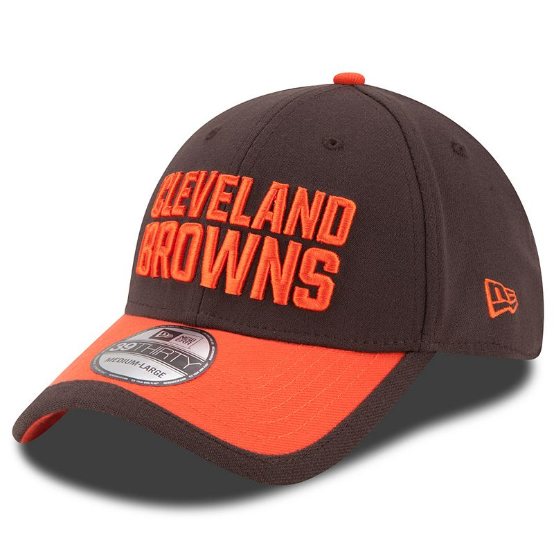 Adult New Era Cleveland Browns Sideline 39THIRTY Stretch-Fit Cap