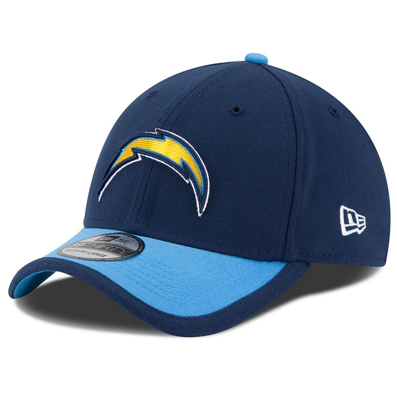 Adult New Era San Diego Chargers Sideline 39THIRTY Stretch-Fit Cap