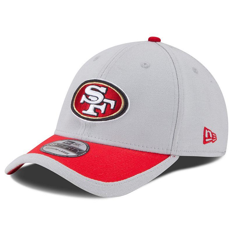 New Era San Francisco 49ers Sideline 39THIRTY Stretch-Fit Cap - Adult