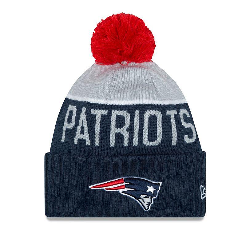 Adult New Era New EnglandPatriots Sport Knit Hat