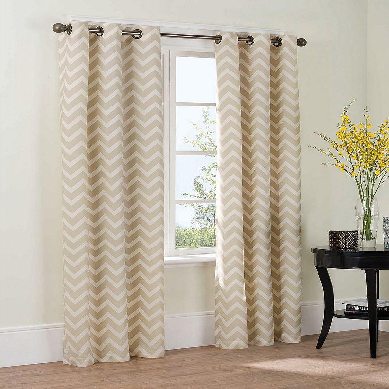 The Big One® Chevron 2-pk. Curtains
