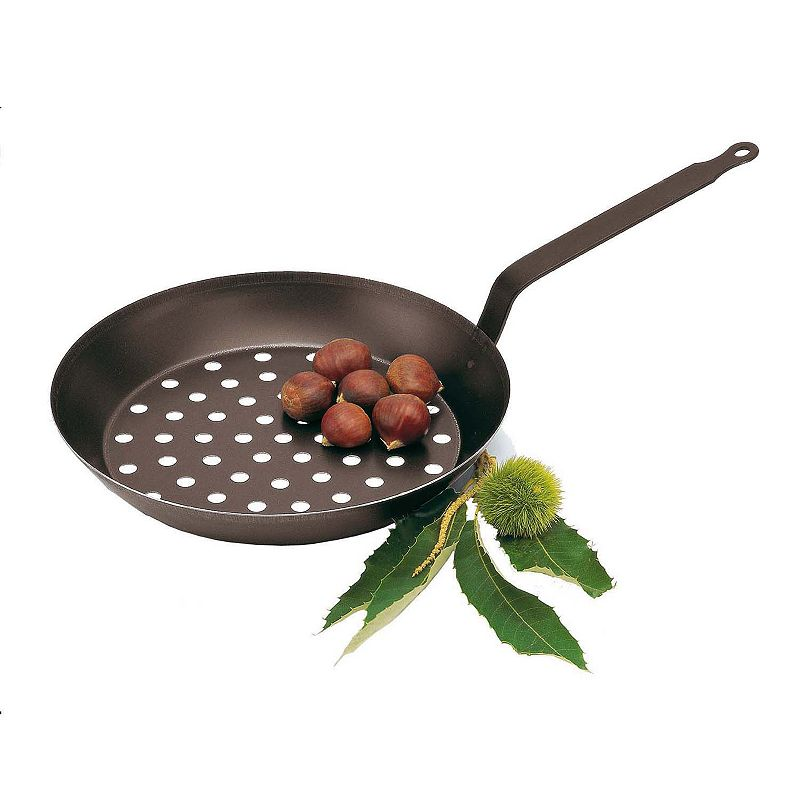 Paderno 11-in. Carbon Steel Chestnut Pan