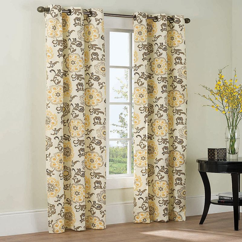 The Big One® Medallion 2-pk. Curtains