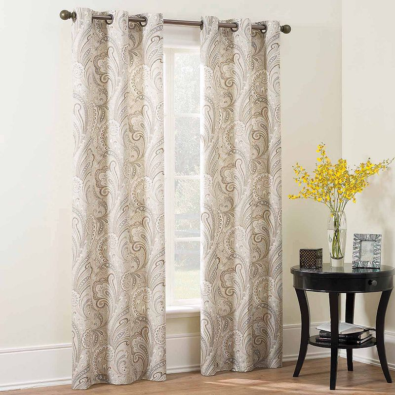 The Big One® Paisley 2-pk. Curtains