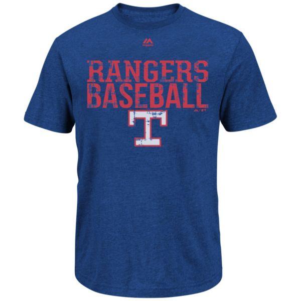Men's Majestic Texas Rangers Spectacular Success Tee