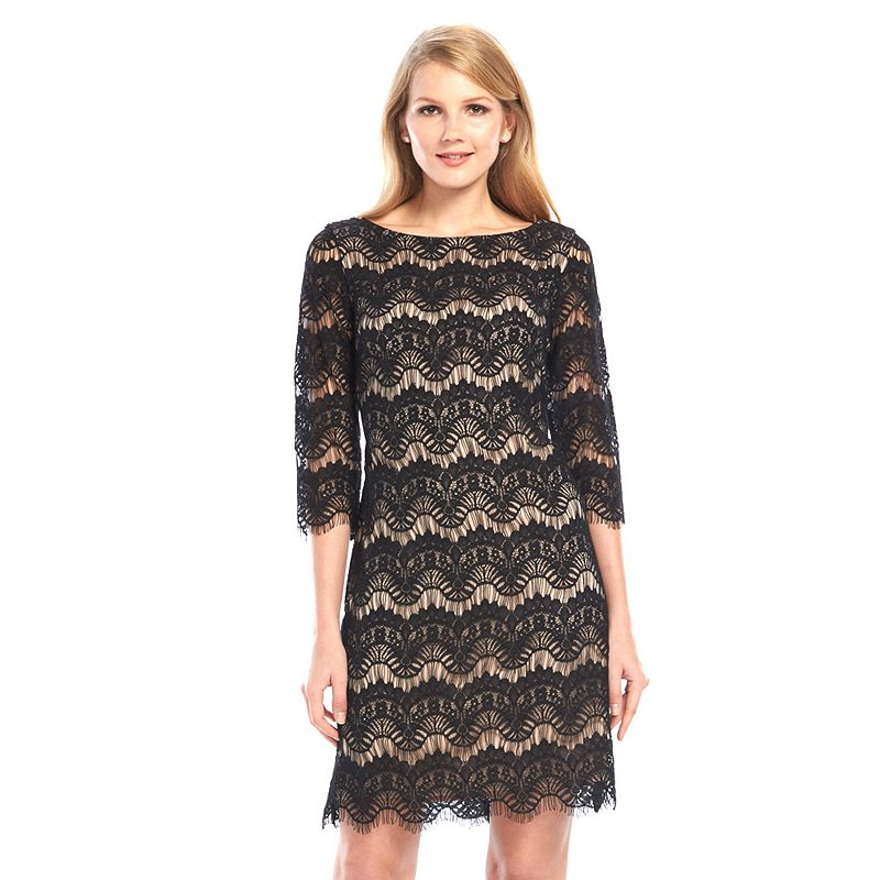 Jessica Howard Lace Sheath Dress - Women's
