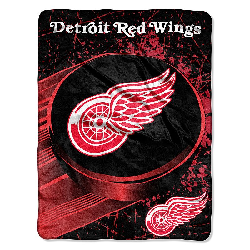 Detroit Red Wings Ice Dash Micro Throw by Northwest