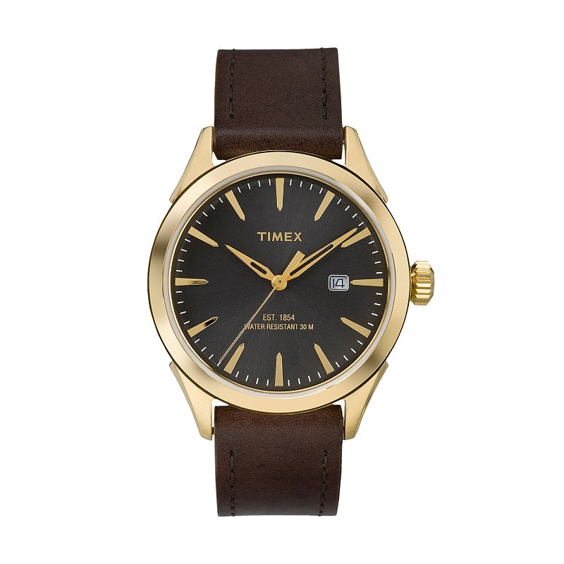 Timex Men's Chesapeake Leather Watch - TW2P775009J