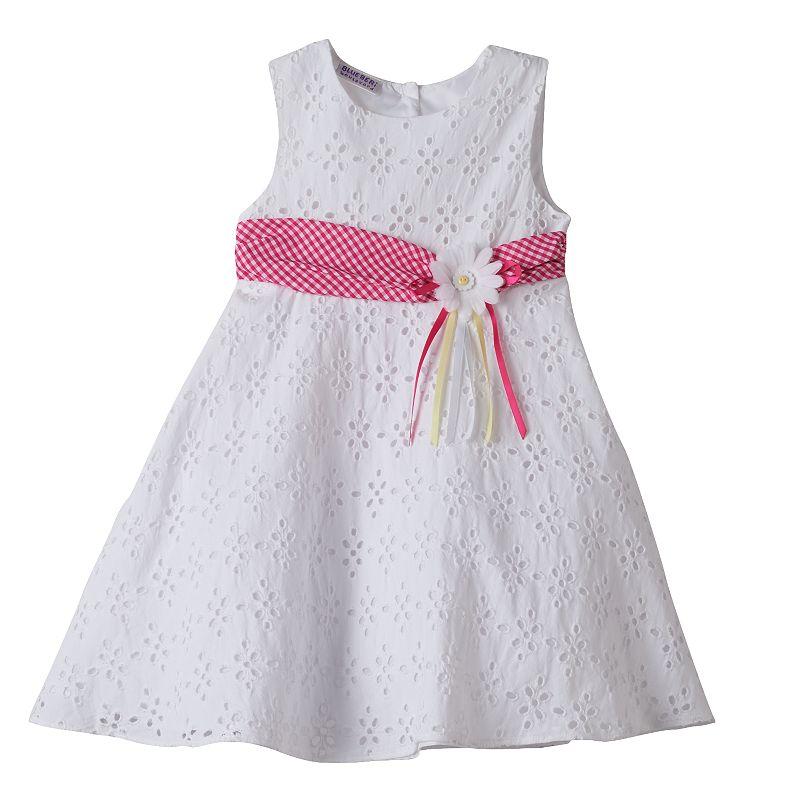 Girls 4-6x Blueberi Boulevard Eyelet Dress