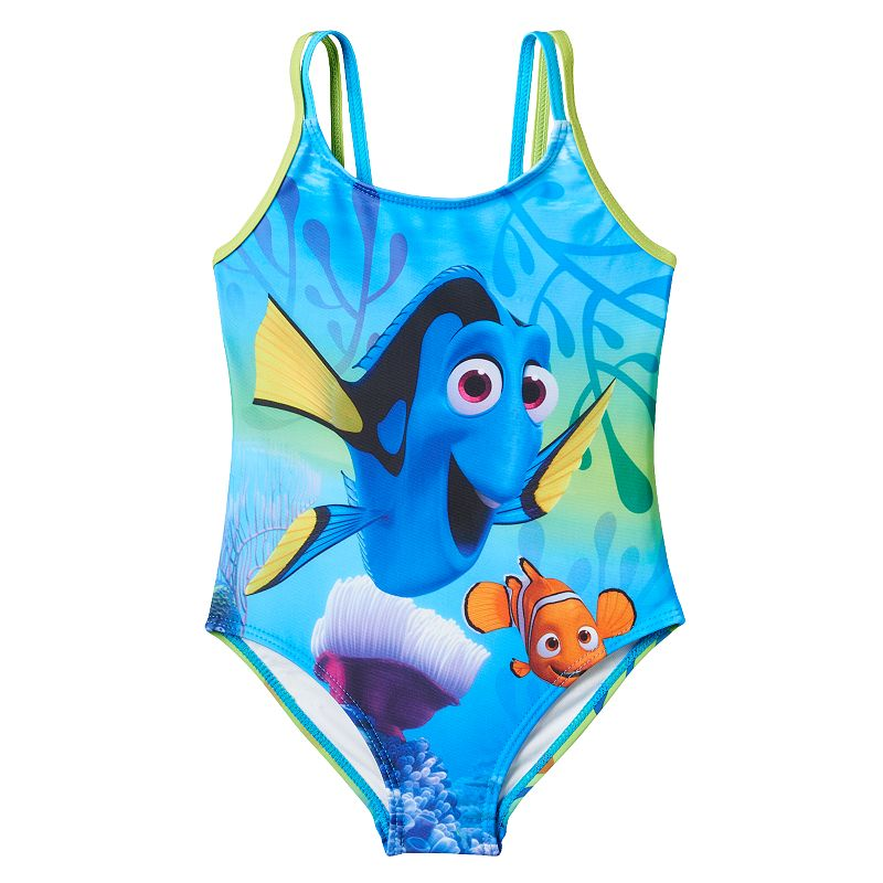Girls 4-6x Disney / Pixar Finding Dory One-Piece Swimsuit