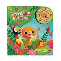 Sweet Little Monkey Early Bird Sound Book by Cottage Door Press