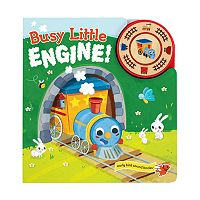 Busy Little Engine Early Bird Sound Book by Cottage Door Press