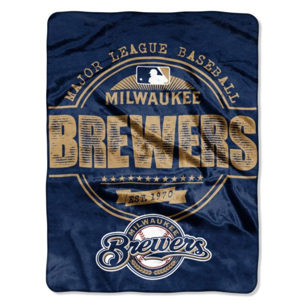 Milwaukee Brewers Structure Micro Throw by Northwest