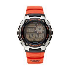 Casio Men's World Time Digital & LC Analog Watch