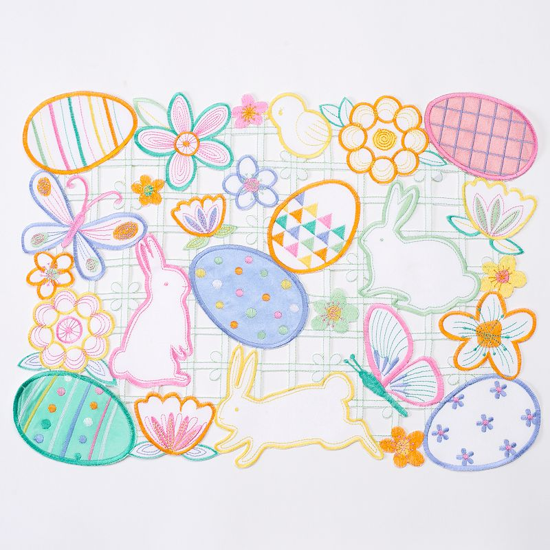 Celebrate Easter Together Cutout Placemat