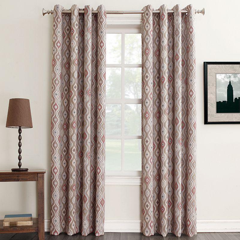 Sun Zero Darby Room Darkening Curtain
