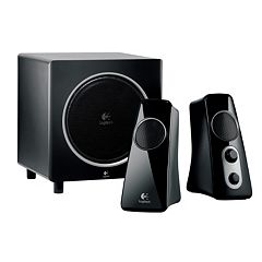 Logitech Z523 Speaker System with Wired Subwoofer by